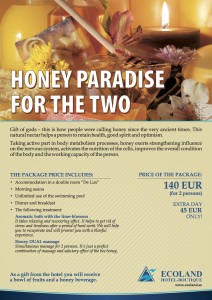 Honey paradise for the two