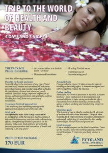 Trip to the world of health and beauty